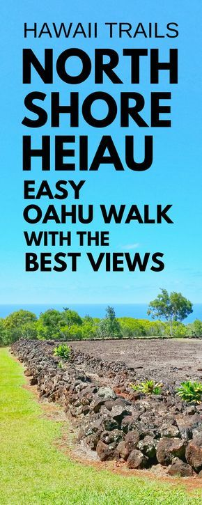 Short easy hikes in Hawaii: What's a North Shore Oahu hike that's easy to add to the Hawaii vacation itinerary? This Hawaiian temple heiau trail! Near best spots for snorkeling on North Shore and a pillbox hike. For US hiking trails in Hawaii, tons of hikes to go to from Waikiki and Honolulu. Beaches, shopping, food nearby. Outdoor travel destinations, activities, ideas for bucket list, budget adventures! Think what to wear, what to pack for hiking to add to Hawaii packing list!