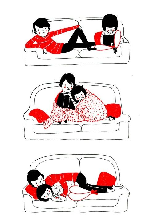 Best Cute Stuff Images On Pinterest - Cute illustrations demonstrate what true love really is
