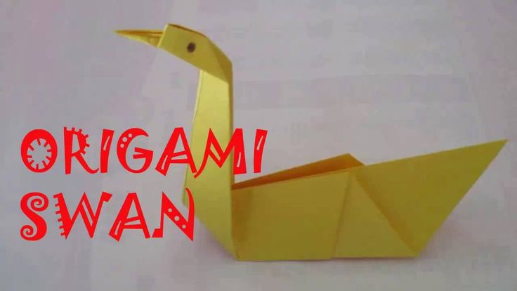 25 best ideas about origami swan on pinterest simple for Origami swan easy step by step