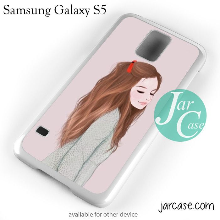 Cute girl YP Phone case for samsung galaxy S3/S4/S5