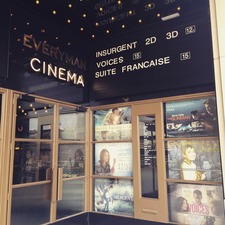 Everyman Cinema Mailbox