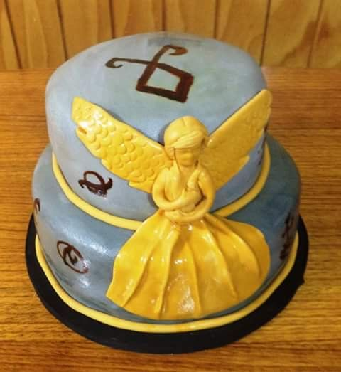 #ShadowHunters #fondant #cake by Volován Productos  #instacake #puq #Chile #VolovanProductos #Cakes #Cakestagram #SweetCake