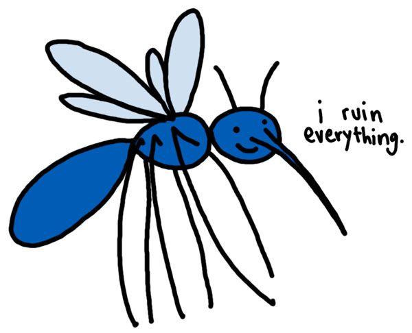 Êtes-vous aussi victime des moustiques ? 9fcc27e40235d643a93917bf39bba265--happy-summer-mosquitoes