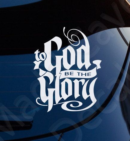 Cool Christian Car Stickers