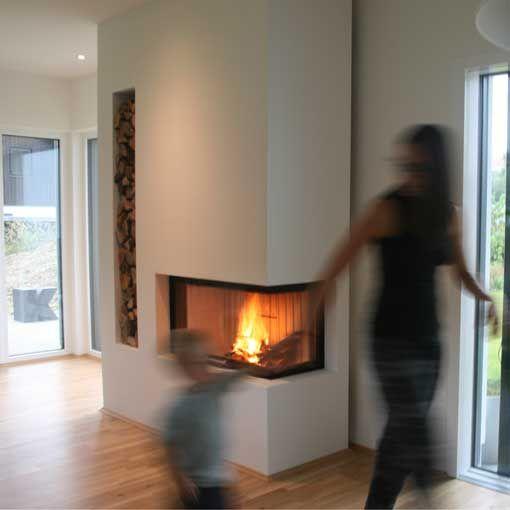Heizkamin 2015 in Mantscha bei Graz #fireplace #architectural #kamin