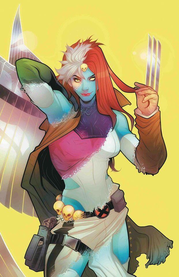 Astonishing X-Men vol 4 #2   Textless variant cover by Elizabeth Torque