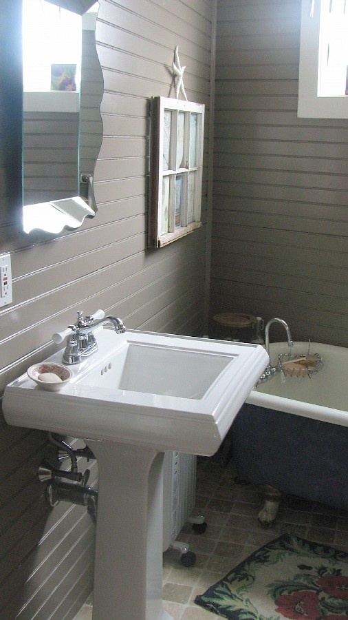 Horizontal Beadboard In 2019 Diy Bathroom Decor