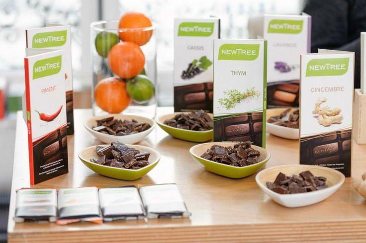NewTree a fait découvrir aux visiteurs sa gamme de produits, tous plus gourmands les uns que les autres.