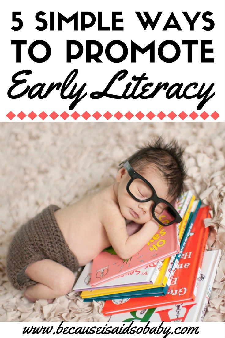 Want to know how to get your toddler or baby talking? Then read this! 5 Simple Ways to Promote Early Literacy. This is a must-read for all new parents!