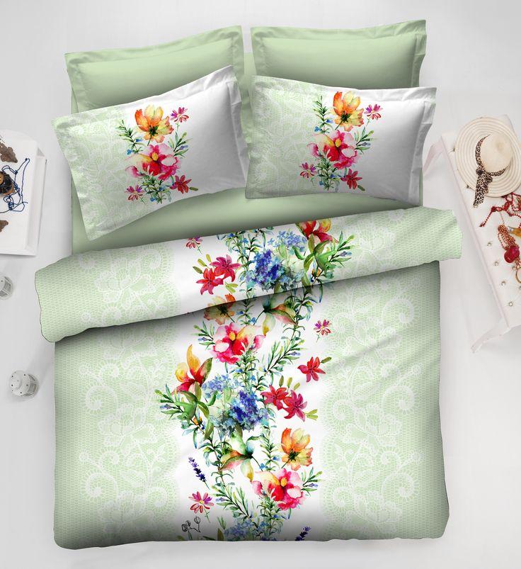 Çiçekler içinde uyanmak güzel olmaz mıydı?  http://www.altinbasak.com.tr/Nevresim-Takimlari