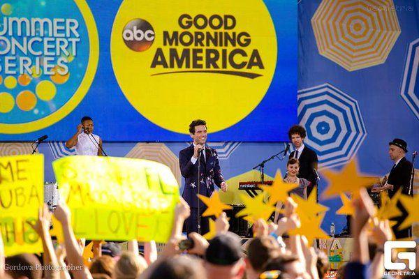 Mika on Good Morning American 2015