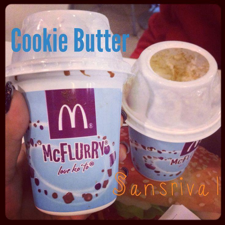 Mcdonald's new #mcflurry flavors!