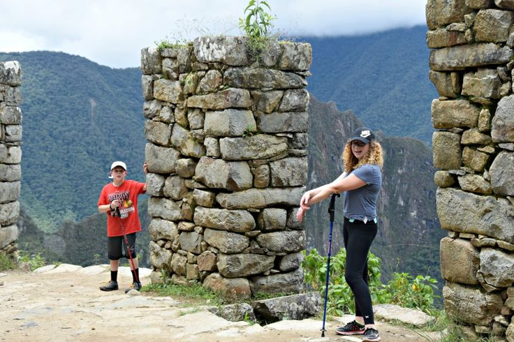 Hiking to the Sun Gate at Machu Picchu - my best tips for traveling with kids