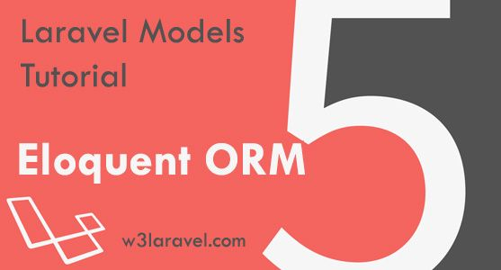Laravel PHP web framework follows MVC (Model View Controller architecture). In this Laravel Models Tutorial we are talking about M of MVC.
