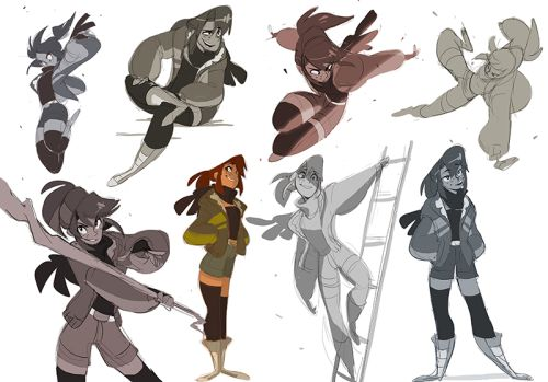 my favorite original character to draw is Enna's Legs