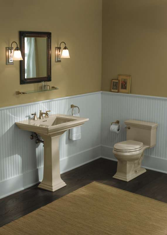 Image Result For Standard Wainscoting Height Bathroom