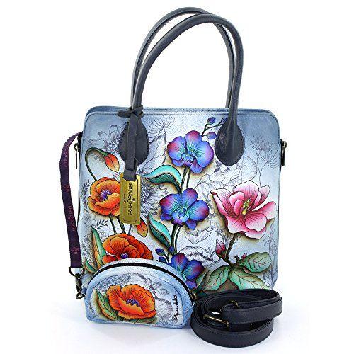 Anuschka Genuine Leather Medium Zipped Hobo Hand Painted (Floral Fantasy) Anuschka http://www.amazon.com/dp/B00TADE5LS/ref=cm_sw_r_pi_dp_AyuJvb01BH9JN
