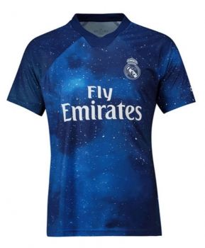 ef7b2e5bf 2018-19 Cheap Jersey Real Madrid EA Replica Soccer Shirt  DFC192 ...