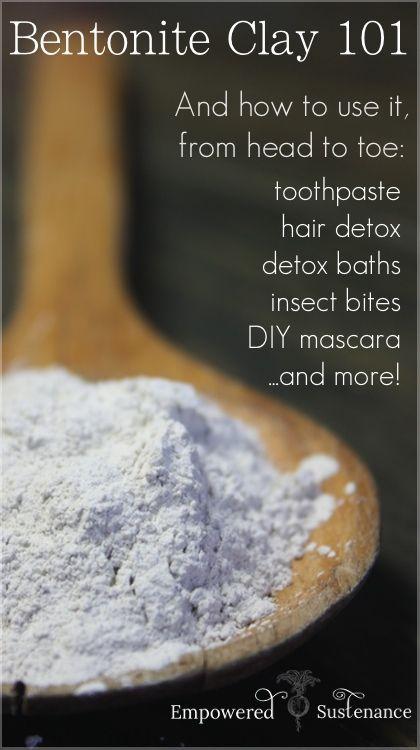 How bentonite clay works