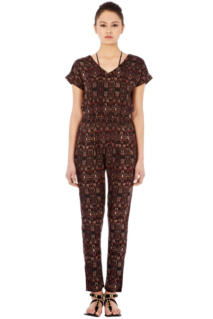 Shop for Tribal Print Jumpsuit by Warehouse at ShopStyle.