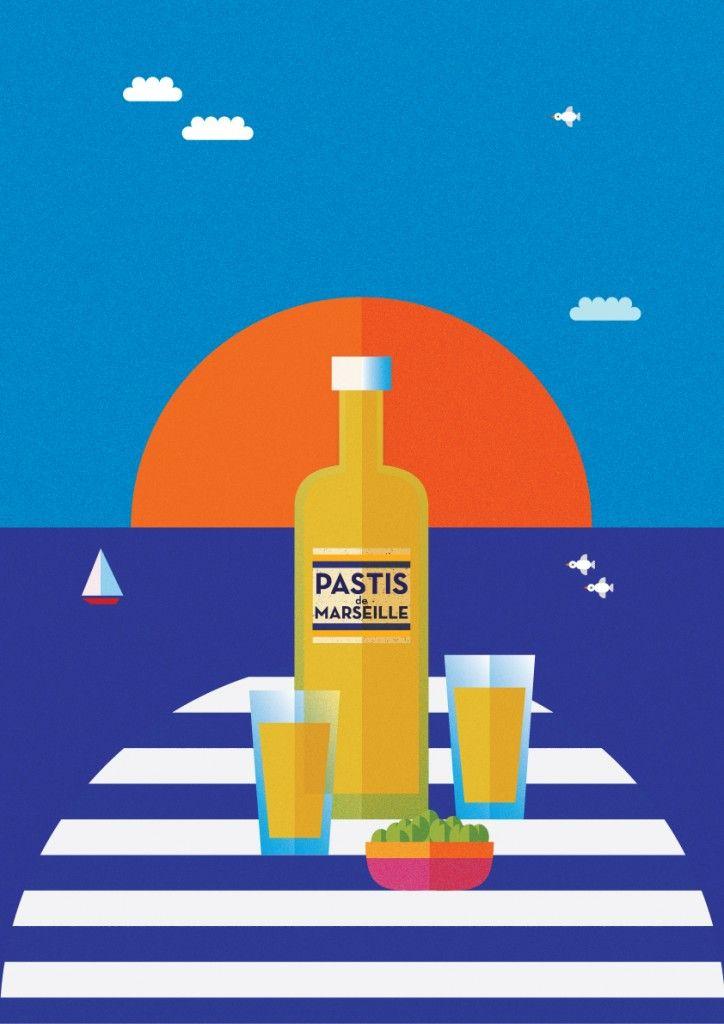 Pastis | Pierre Piech Illustration