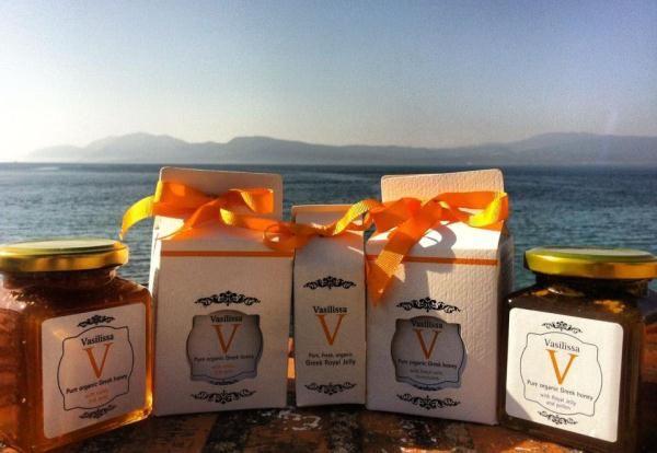Ελληνικά προϊόντα, Μέλι με 24 καράτια φύλλο χρυσού