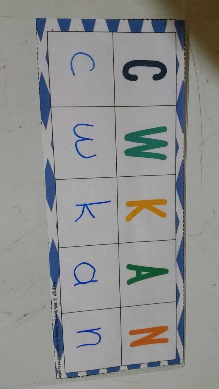 Letter recognition Wipe-It game. Students need to write the correct lowercase letter below each capital letter. This game also has the lowercase game letters included so students only need to put the correct lowercase letter below each capital letter if you don't want them to write. This games comes in a packet with 5 letter recognition games including Chicka Chicka Boom Boom and Gumball Machine Matching.