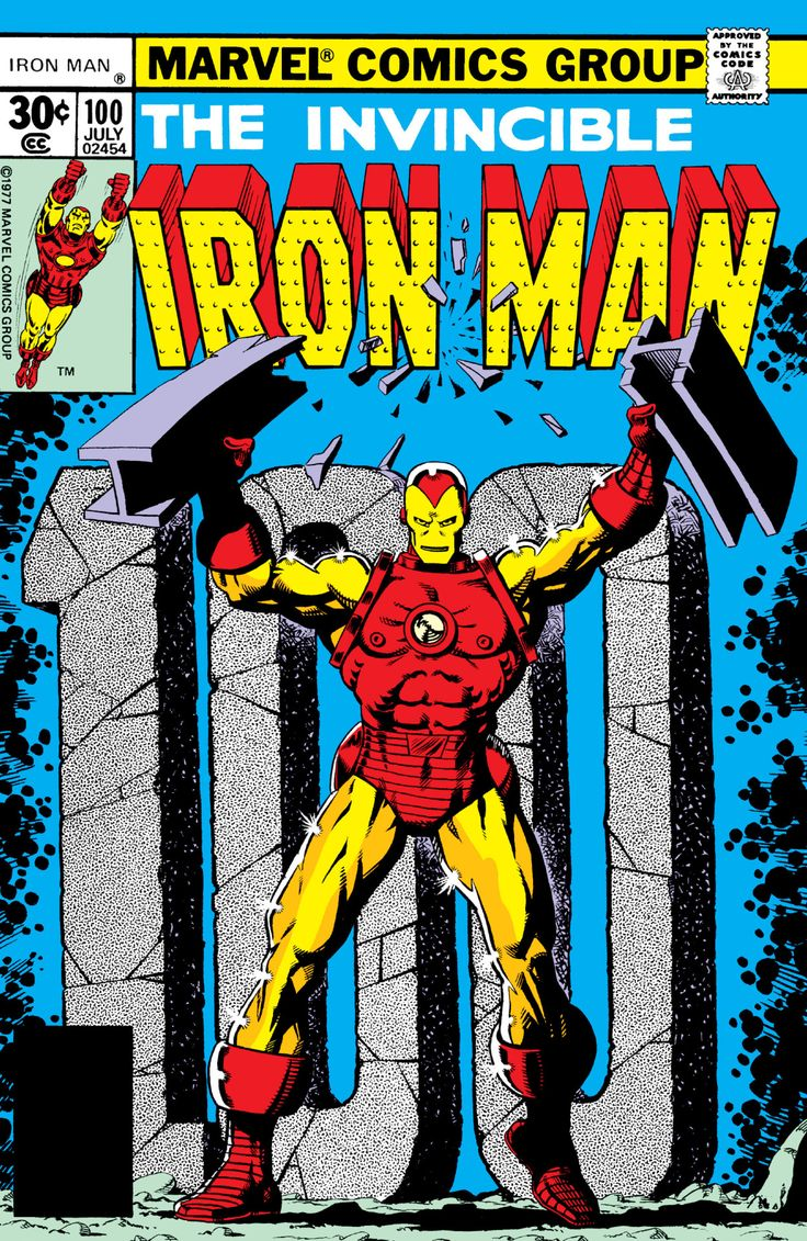 Iron Man Vol. 1 #100 by Jim Starlin