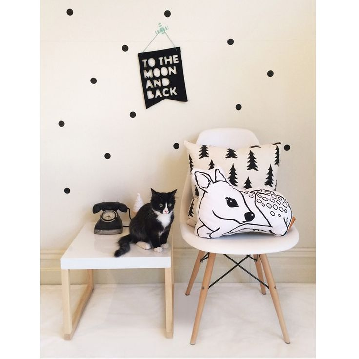 Felt Banner - Black   Kids room interior design, Boys room ...