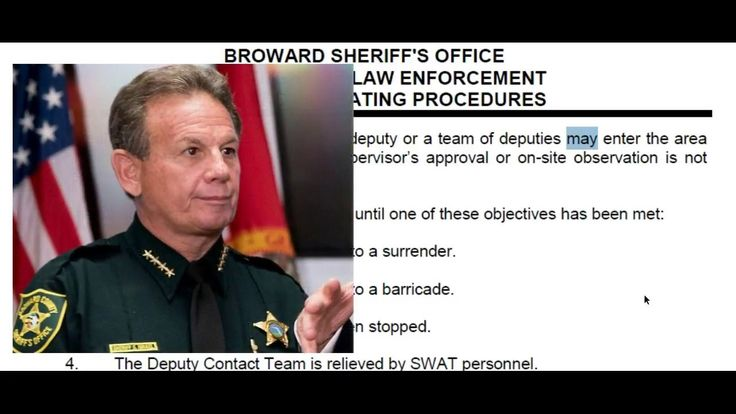 Broward Sheriff Office Policy Revealed - Deputy Did NOT Violate Policy B...