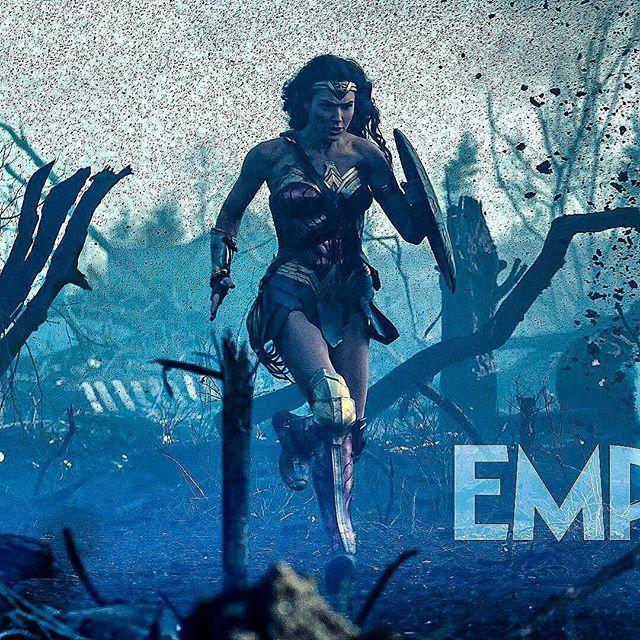 New Wonder Woman image from Empire Magazine!