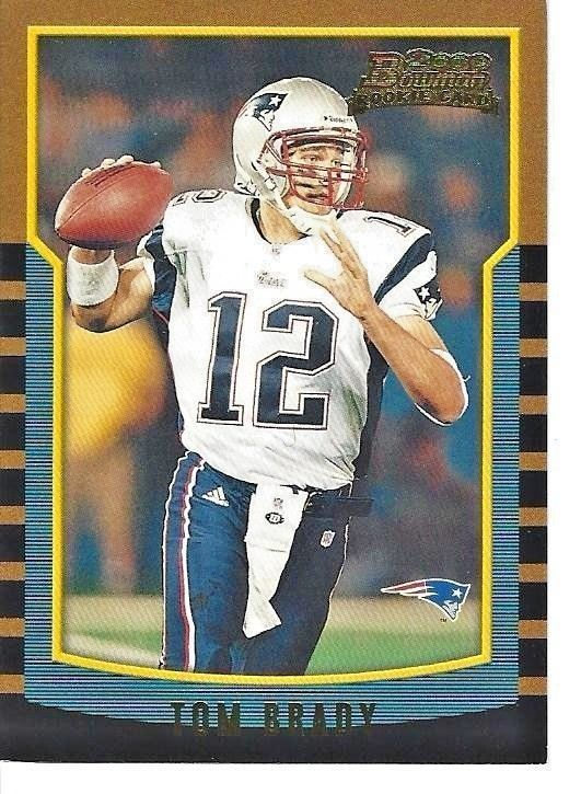 Tom Brady Rookie Card 2000 Bowman Number 236 Almost A