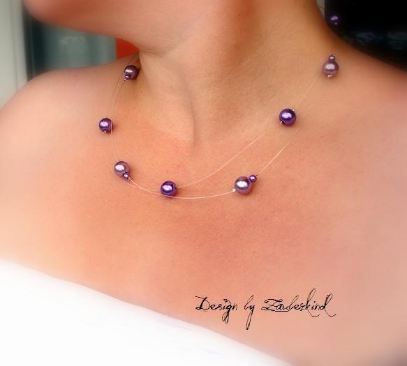 Schwebende Perlen