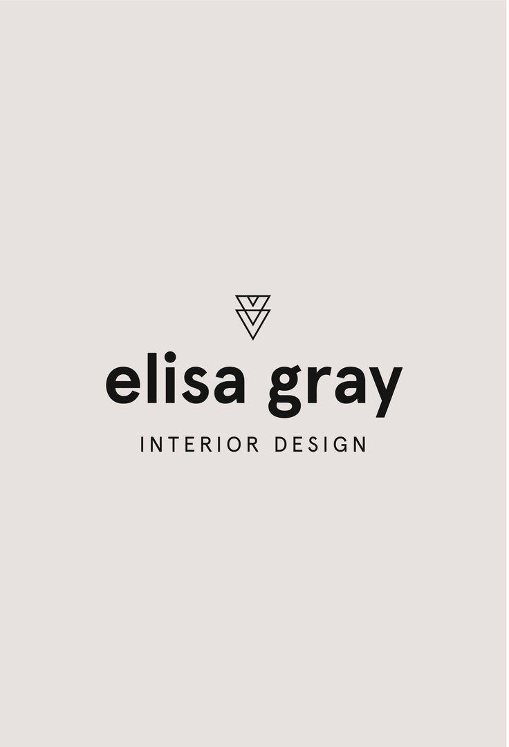 Interior Design Premade Logo Design Modern Designer Logo Sans