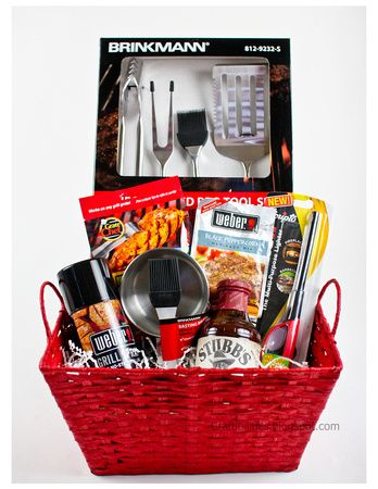 Craftibilities: Father's Day- BBQ gift basket and BEER!!!