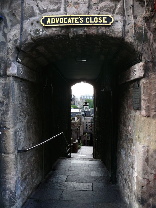 Edinburgh - I'm so glad this is one of the first results for Edinburgh. The closes along the royal mile were my favorite part. They just seem so haunted. So packed with history.