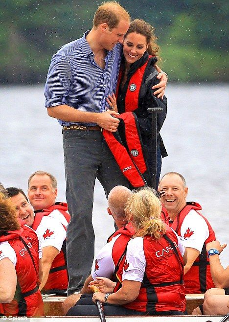 Wills and Kate in Canada