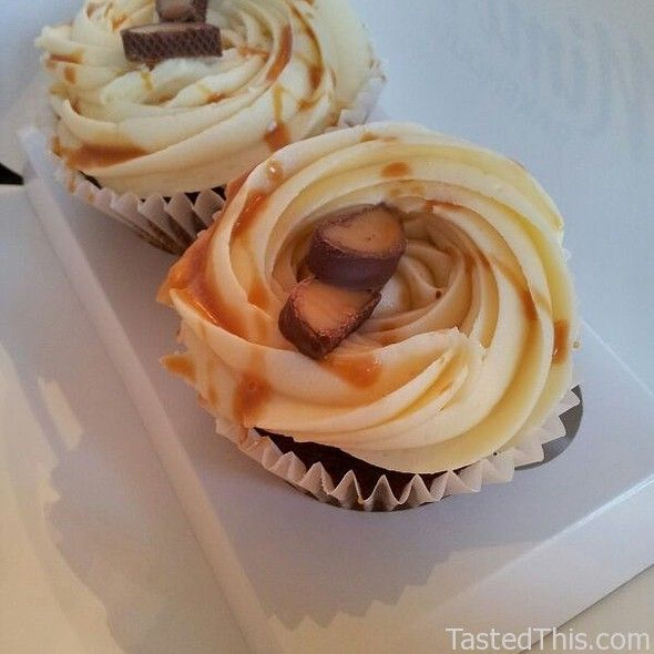 Sticky Toffee Cupcake - http://www.tastedthis.com/2013/03/08/sticky-toffee-cupcake/