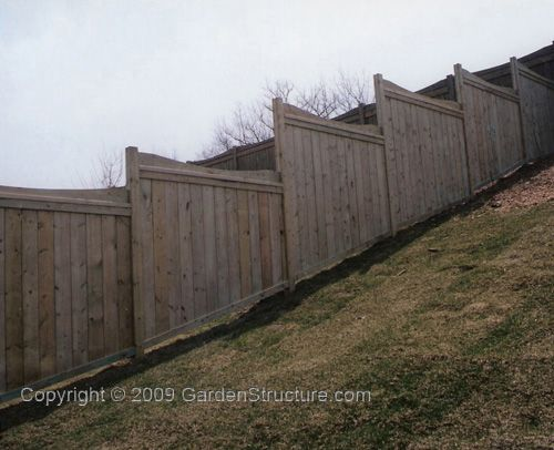 fences on a hill | Can I Install A Residential Fence On A Hilly Area?