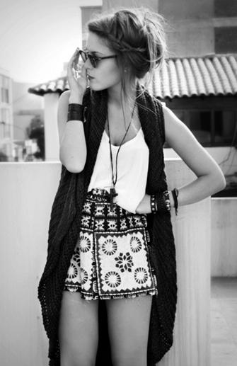 Outfit & Hair.... Cute Hipster Ish Girl.