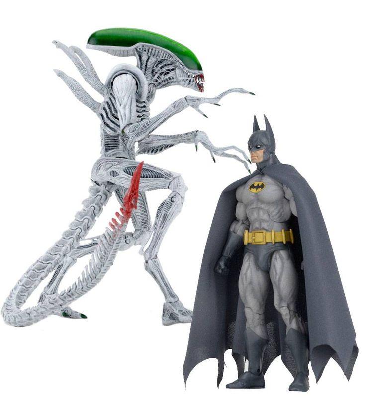 Batman/Aliens Action Figure 2-Pack Batman vs Alien 18 cm