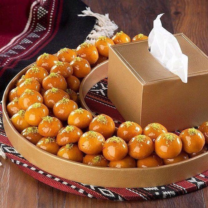 لقيمات بالجبن على شكل هلال السعر ١٠ دنانير الكويت لقيمات هدايا رمضان حلويات رمضانية حلويات ديليزيا Buffet Food Ramadan Desserts Arabian Food