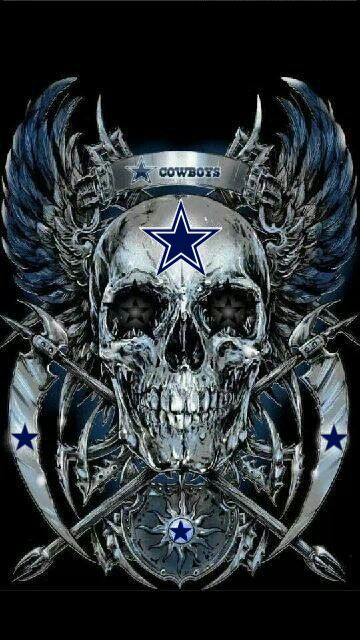 Not much for NFL fan but the skull looks badass.
