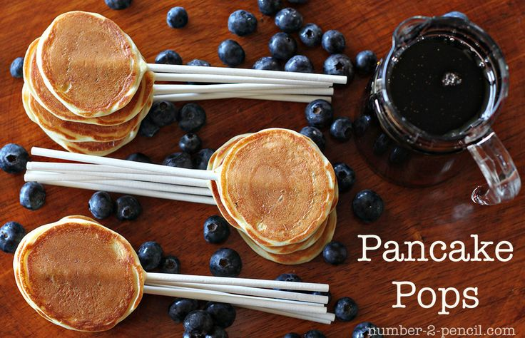 Pancake pops... now that is brilliant! I have to try these!