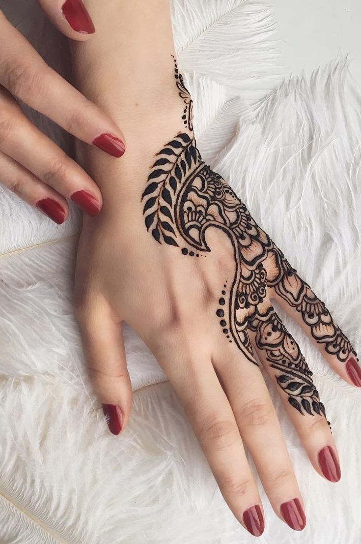 32 Free Henna Tattoo Design You Can Do Best Henna Drawings At Home New 2019 Page 6 Of 32 Eeasyknitting Com Henna Tattoo Hand Henna Tattoo Designs Henna Tattoo Designs Hand