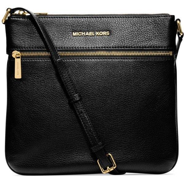 MICHAEL Michael Kors Handbag, Bedford Flat Crossbody found on Polyvore