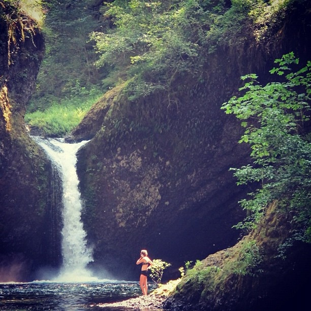 Punch Bowl Falls on the Eagle Creek Trail