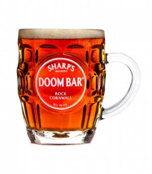 Doom Bar  Glass is nicer than the beer.