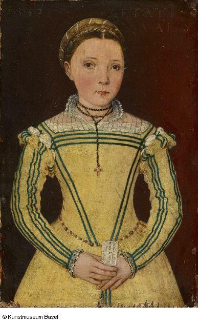 """""""Portrait of Dorothea Curio, Daughter of Professor Celio Secondo Curio"""", Lucca (?). 1552"""