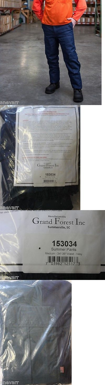 Clothing and Protective Gear 20545: Grand Forest 153034 Medium Summer Protective Chainsaw Pants -> BUY IT NOW ONLY: $114.99 on eBay!